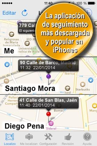 Phone Tracker for iPhones screenshot 2