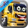 Trucks Jigsaw Puzzles: Kids Trucks Cartoon Puzzles