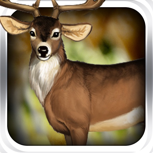 Realtime Big Buck African Deer -  Hunting Simulator iOS App
