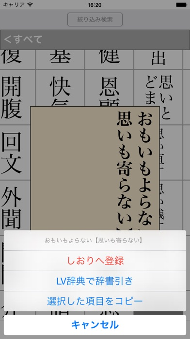 三省堂 必携用字用語辞典 第六版 screenshot1