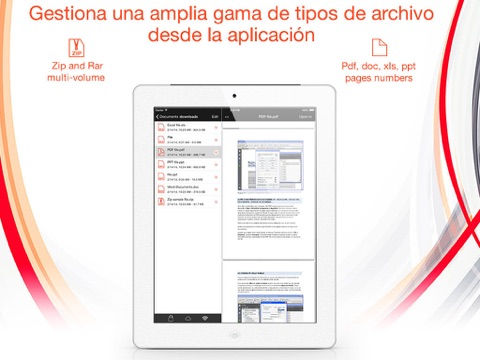 Captura de pantalla del iPad 3