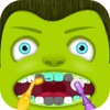 Маленький монстр с ума стоматолог