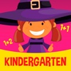 123 little witch - math game for kindergarten