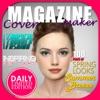 Magazin Modell Abdeckung Hersteller - fügen Sie Text und Entwurf gefälschte Titelseite mit Foto-Editor