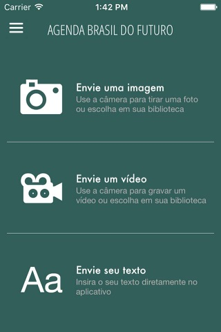 Agenda Brasil do Futuro screenshot 3