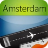 Amsterdam Airport (AMS) Flug-Tracker Schiphol