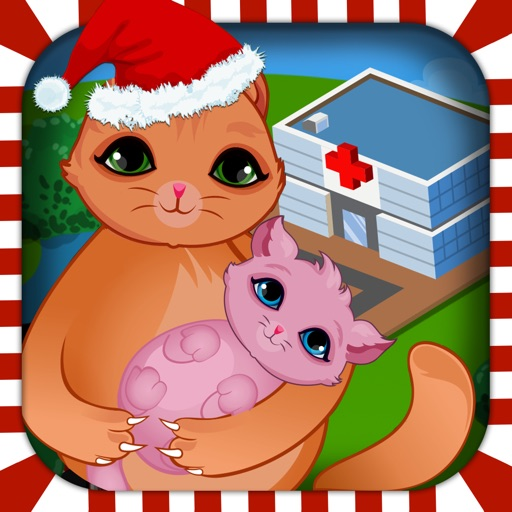 Mommy's Newborn Pet Babycare Doctor Salon - mom christmas baby care hospital for girls iOS App