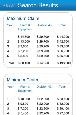 BMT Tax Calc screenshot 3