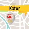 Kotor Offline Map Navigator und Guide