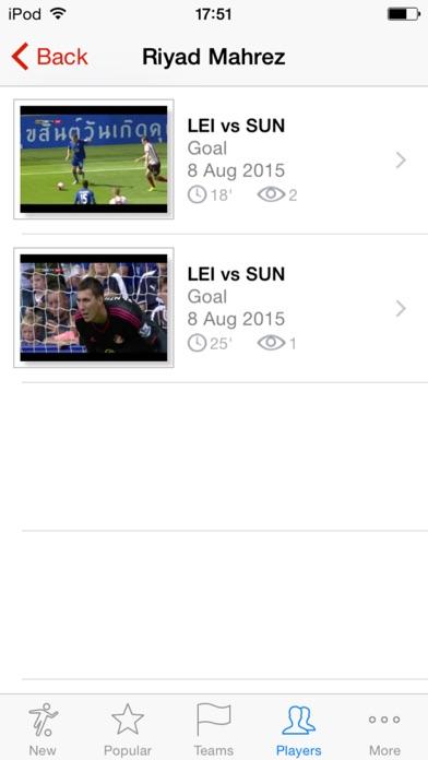 Футбол! Все видео голы Европейских чемпионатовСкриншоты 4