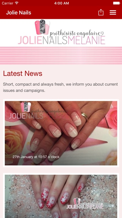 Jolie Nails Mélanie by Tobit.Software
