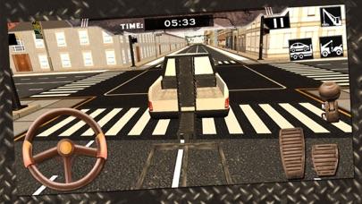 Screenshot von Autounfall-Abschleppwagen-3D-Treiber Spiel2