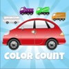 Vehicle Count - Learn Colors & Numbers