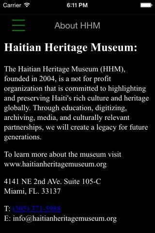 Haitian Heritage Museum screenshot 3