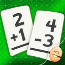 Addition Und Subtraktion Mathe-Flashcard Spiel Für Kinder In Der ...