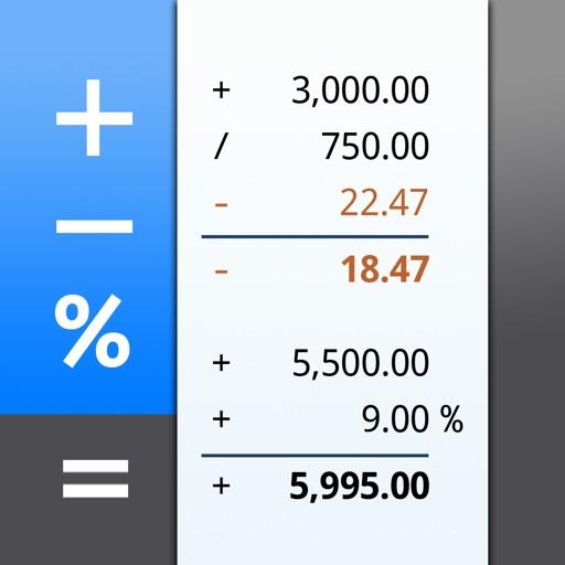 CalcTape – 纸带票据计算器