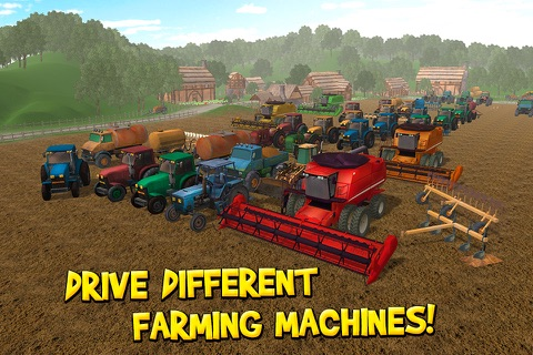 USA Country Farm Simulator 3D Full screenshot 3