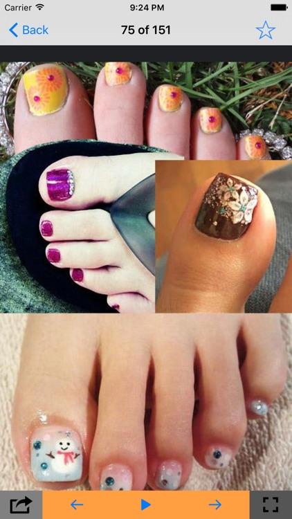 Best Toes Nail Designs By Mukund Prasad