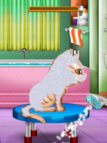 Скачать мыть и лечить домашних животных : помочь кошек и щенков ! Бесплатная игра