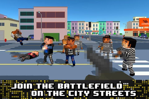 Pixel Wars: City Battlefield 3D Full screenshot 1