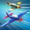 Flugzeug Retro Pixel . Kämpfer Flugzeuge Simulator Spiel