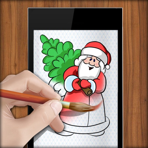 Learn to Draw New Year iOS App