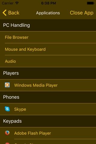 Remote Komondor Lite screenshot 2