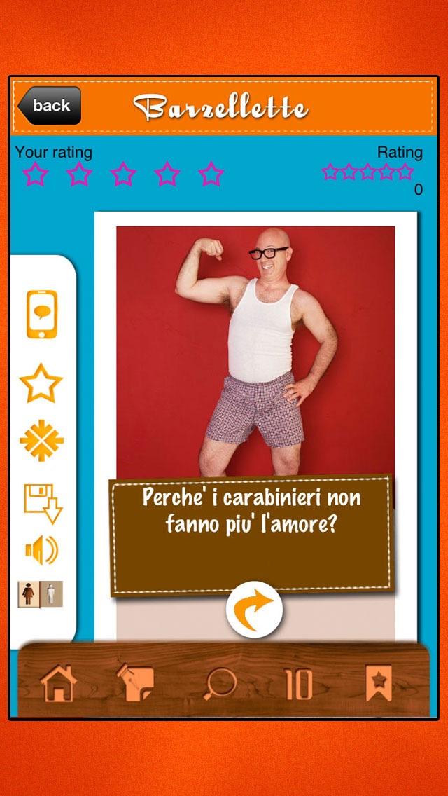 Screenshot of Barzelette - Domande e risposte per adulti4