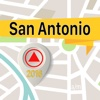 San Antonio Offline Map Navigator and Guide