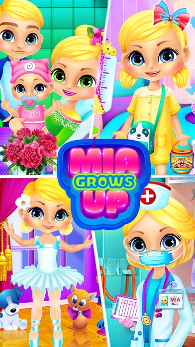 download Mia Grows Up - Baby Care Games & Kids Life Story apps 4