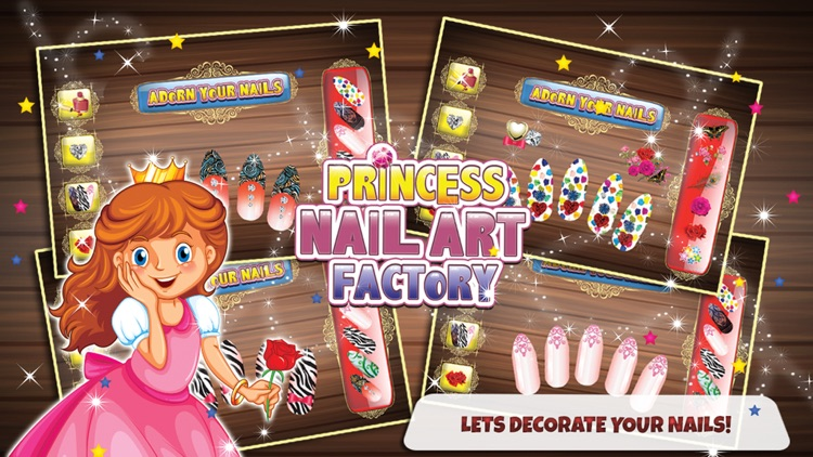 Princess Nail Art Factory – Make beauty salon & makeover items in ...