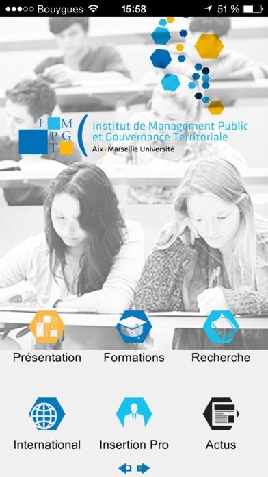 IMPGT Aix Marseille UniversitéCapture d'écran de 1