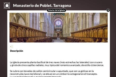 Monasterio de Poblet screenshot 3