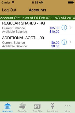 LEO CU Mobile Teller screenshot 2