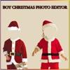 Boy Christmas Photo Editor