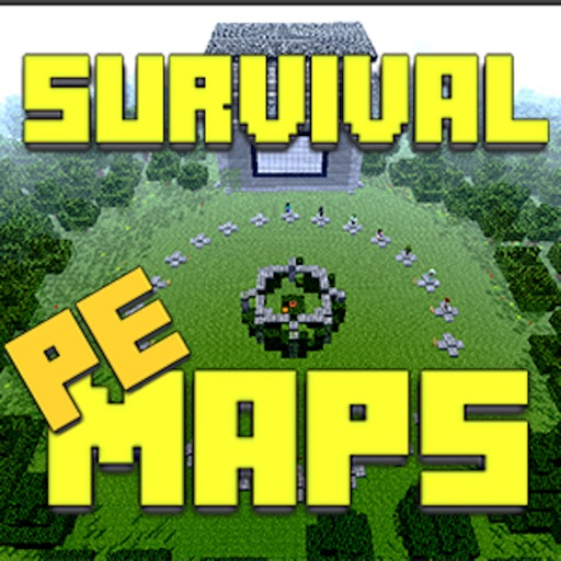 Survival maps for minecraft pe pocket edition custom for Explore craft survival pe