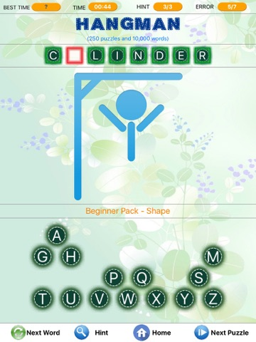 Screenshots of Word Search - Find Little Crosswords, Spider & Freecell Solitaire, Brain Challenged Puzzles for iPad