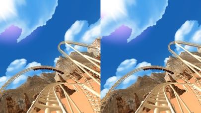 VR Roller Coaster for Google Cardboard screenshot