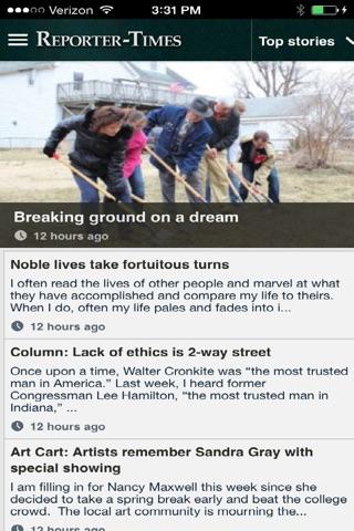 Reporter Times News screenshot 1