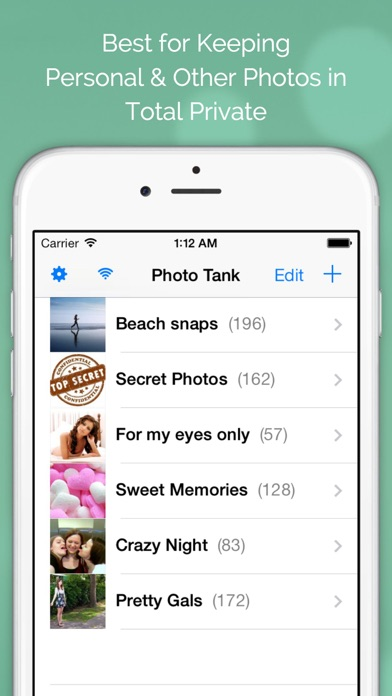 Screenshot #7 for Photo Tank - Lock Photos with Passcode
