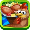 Chicken Hunt and Cooking Game - Real chicken hunting in poultry farm and crazy kitchen adventure game for kids with best recipes