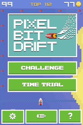 Pixel Bit Drift - Speed Boats Water Challenge screenshot 2