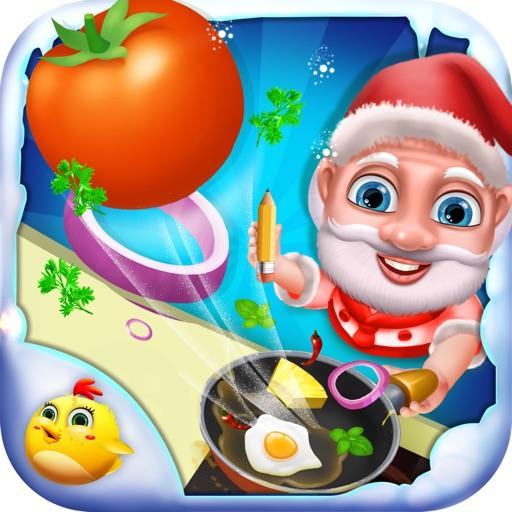 Santa's Kitchen Fun iOS App