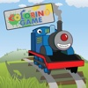 Coloring Book Game for Train Thomas