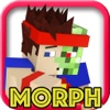 MORPH CHALLENGE MC MINI GAME - Block Survival Hunter with Multiplayer