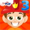 Fireman Grade 3 Learning Games for Kids School Edition