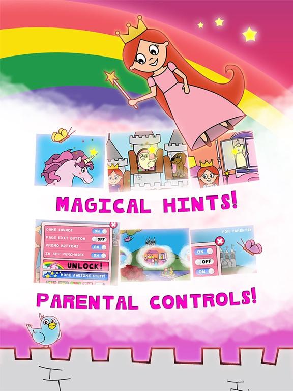 【儿童益智】公主的童话着色仙境学龄前孩子和家庭旗舰版