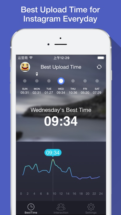 app to time instagram posts
