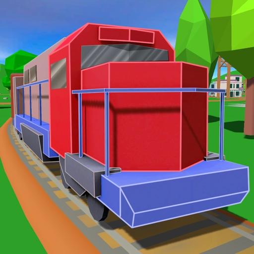 Cargo Train Driver: Railway Simulator 3D iOS App