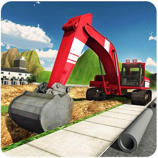 ヘビーショベルクレーンシミュレータ3D - PRO建設トラック運転手の挑戦